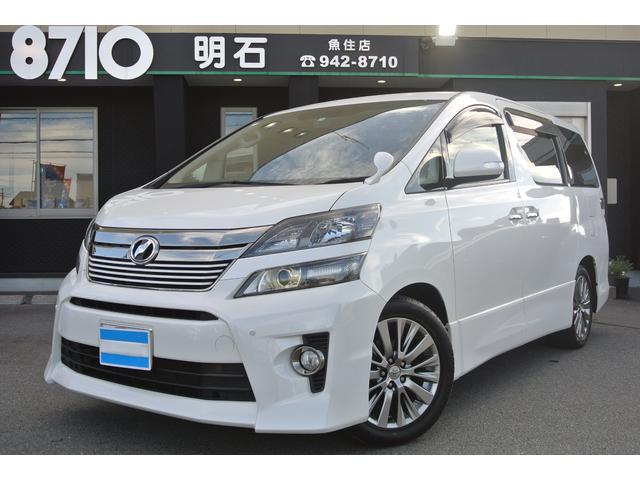 トヨタ 2.4Z ゴールデンアイズ ナビTV フリップダウン ETC