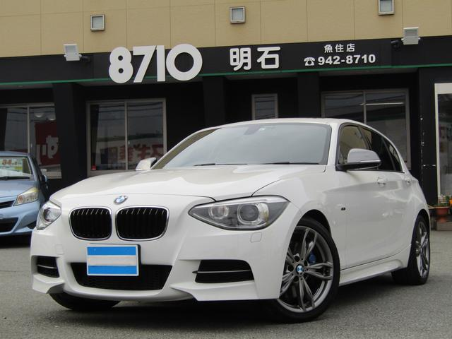 BMW M135i 純正ナビ 地デジチューナー バックカメラ クリアランスソナー パワーシート パドルシフト プッシュスタート スマートキー ドライブレコーダー
