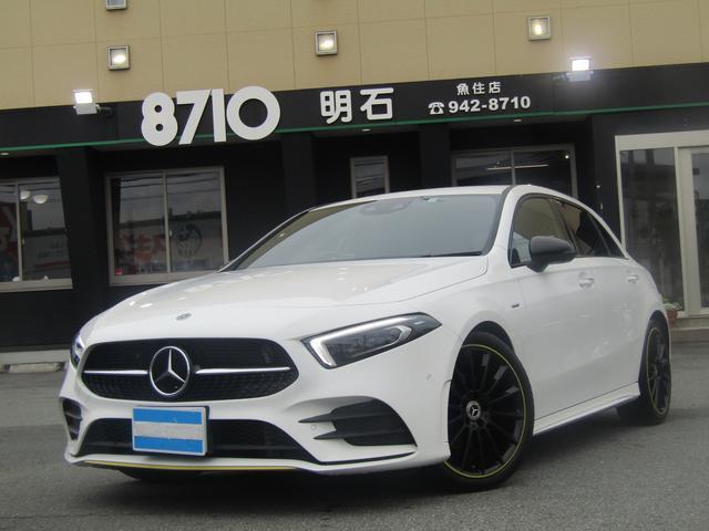 メルセデス・ベンツ A180 エディション1 限定車 レーダーセーフティパッケージ ナビTV 360°ビューモニター 専用19インチアルミ ヘッドアップディスプレイ アンビエンライト
