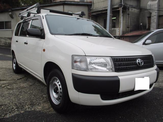 トヨタ DX 4WD ルーフキャリア ポータブルナビ ワンセグナビ