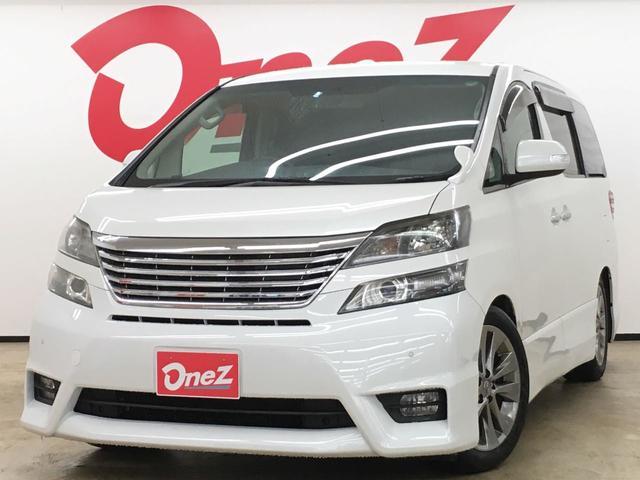 トヨタ 2.4Z プラチナセレクションII 純正HDDナビ 両側電動
