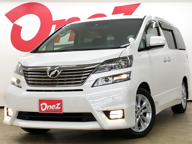 トヨタ 2.4Zプラチナセレクション メーカーHDDナビ 両側電動