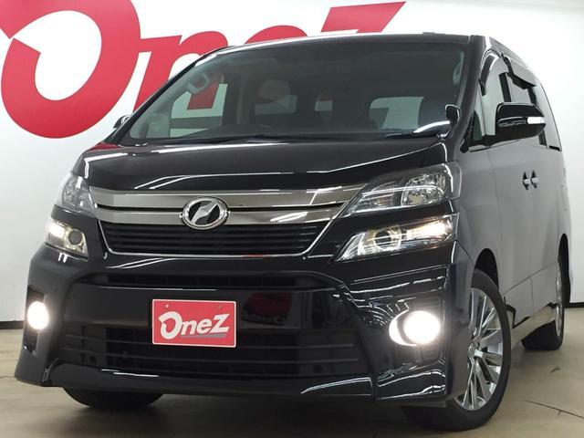 トヨタ 2.4Z ゴールデンアイズ 禁煙車 純正SDナビ 両側電動