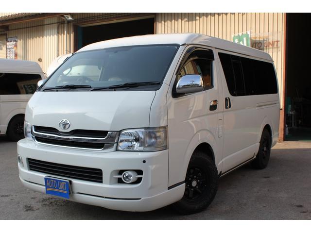 トヨタ ワイドS-GL4駆 キャンピング仕様 福祉8NO・FFヒータ