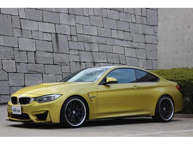 BMW M4クーペ TWS20アルミ 3Dデザインカーボン仕様