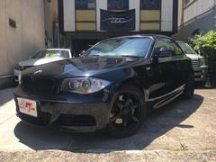 BMW135i レザー フルセグナビTV 外マフラー ハドルシフト