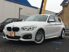 BMW118d Mスポーツ HDDナビ LEDフォグ