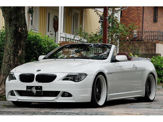 BMW 645Ciカブリオレ WALDエアロ WALDマフラー