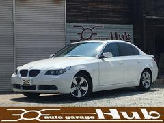 BMW530iハイラインパッケージ サンルーフ 黒革シート HID