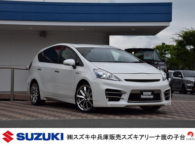 トヨタ S Lセレクション/フレーダーマウスエアロ/革調シートカバー