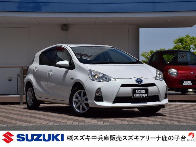 トヨタ S/純正SDナビ/前席シートヒーター/チルトステリング
