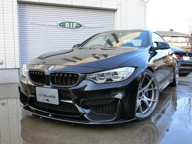 BMW MDCT M4クーペ IPE可変マフラー 可変Mサスペンション 20AW KWアジャストスプリング カーボンリップ&Rウイング