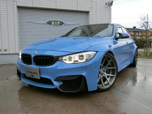 BMW M3 M3セダン KW車高調 agio20インチAW AWE可変マフラー レカロシート ECUチューニング約500ps Mパフォーマンスパーツ カスタムパーツ約450万円オーバー