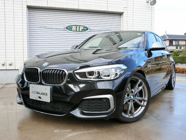 BMW 1シリーズ M140i LEDヘッドライト ローダウン 赤革 スポーツAT