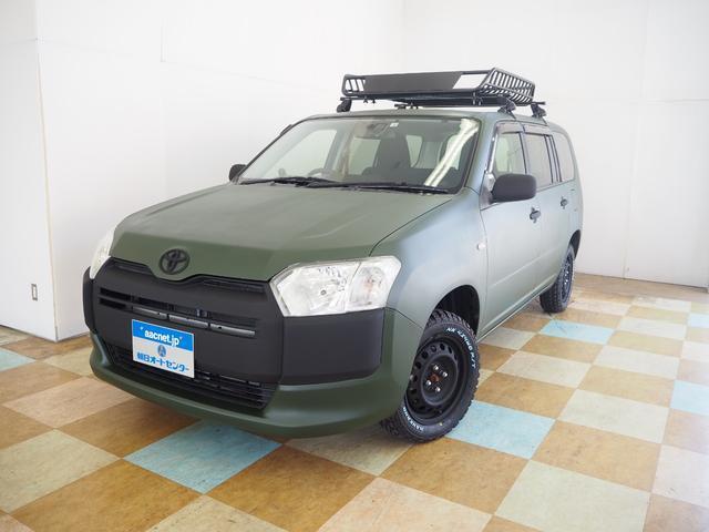 トヨタ GL 4WD マットペイント 新品ルーフラック MTタイヤ SDナビ地デジ バックカメラ アウトドア仕様