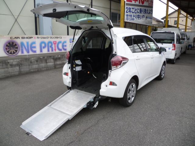 トヨタ X 車いす仕様 スロープタイプ タイプ1 助手席側リアシート