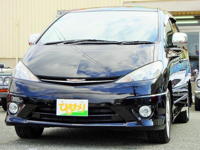 トヨタ アエラス 両側電動スライドドア キーレス HID 純正アルミ
