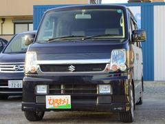 エブリイワゴン特別仕様車レザーSLCターボ 両側パワスラ 社外マフラー