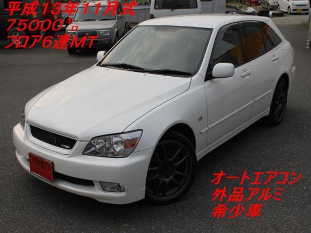 トヨタ AS200 Zエディション 外品アルミ 6速マニュアル