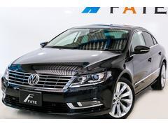 VW フォルクスワーゲンCC1.8TSIテクノロジーPKG 黒革 ナビTV最長2年保証可