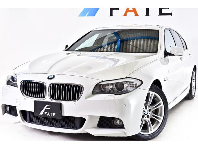 BMW 528i Mスポーツパッケージ 黒革 ナビ 最長2年保証可