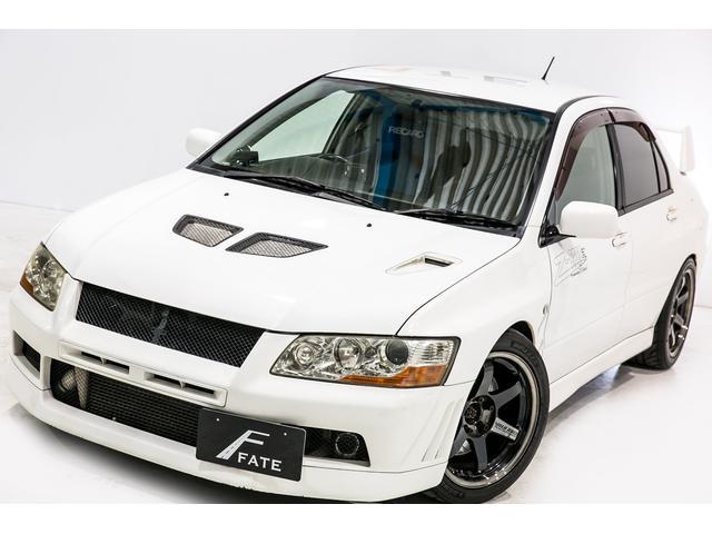 三菱 GSRエボリューションVII 車高調 マフラー エアクリ