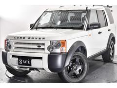 ランドローバー ディスカバリー3SE・黒レザーシート・トリプルサンルーフ・ウッドインテリア