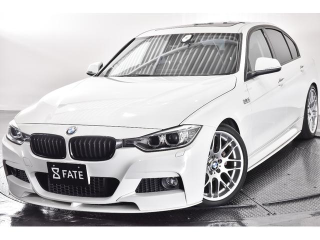 BMW 320iスポーツ Mパフォーマンスパーツ 車高調 黒革 SR