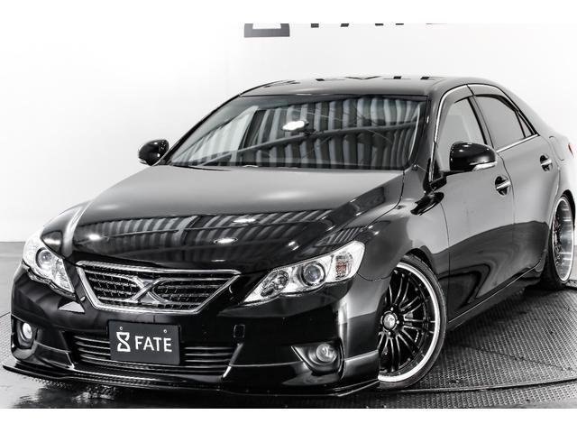 トヨタ 250G リラックスセレクション・ブラックLTD・車高調