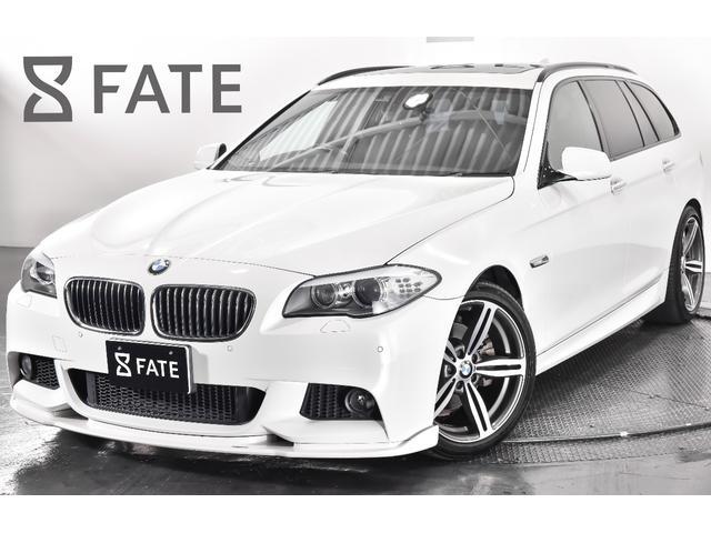 BMW 528iツーリング Mスポーツパッケージ HAMANNエアロ