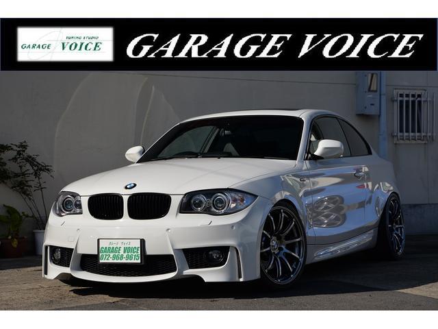 BMW 135i サンルーフ アドバンRS2 19AW 新品車高調