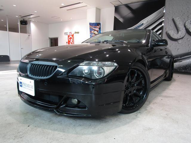 BMW 645Ci WALDエアロ マフラー ハルトゲ20アルミ