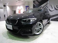 BMW220iクーペ Mスポーツ 純正HDDナビ 1オーナー