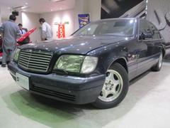 M・ベンツS500 サンルーフ 黒革シート 純正マルチナビ 左ハンドル