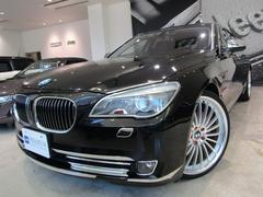 BMW750Li リアエンターテイメント 22インチアルミ