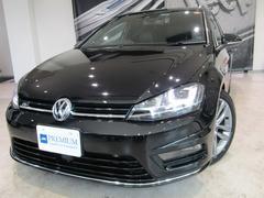 VW ゴルフヴァリアントRラインブルーモーションテクノロジーRライン専用レザーシート