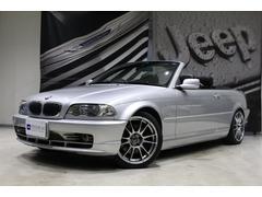 BMW330Ciカブリオーレ OZレーシング18インチアルミ 黒革