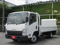 エルフトラック2トン積み ワイドロング 800kg型パワーゲート付平ボディ