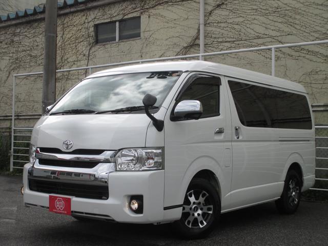 トヨタ GL 10人乗り スマートキー 社外ナビ・TV・Bカメラ