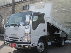エルフトラック4WD 2000kg積み フルフラットロー強化ダンプ