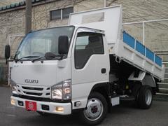 エルフトラック4WD 2トン積み フルフラットローダンプ コボレーン
