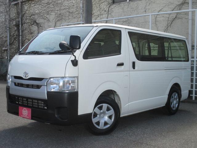 トヨタ ロングDX Dターボ 9人乗り ナビ・Bカメラ ETC
