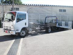 エルフトラック2800kg  車輌積載車エスカ 自動油圧ゲート ラジコン
