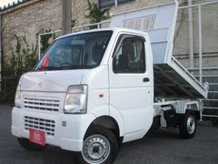 キャリイトラック4WD 土砂ダンプ 5MT エアコン