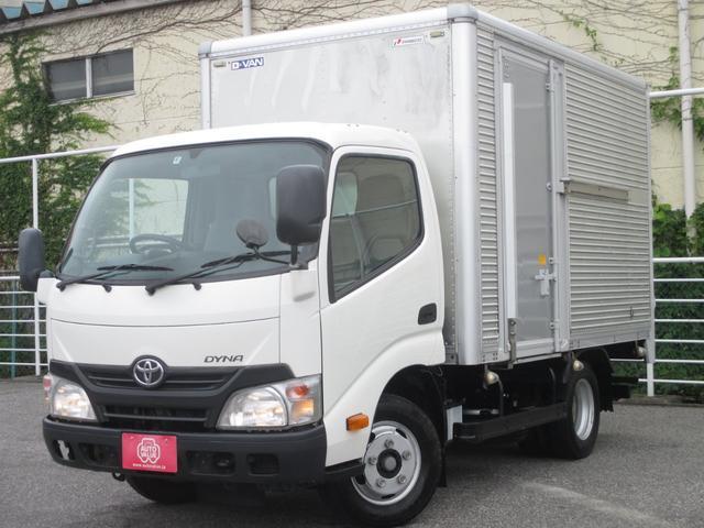 トヨタ 2000kg積み アルミバン 両側スライドサイドドア