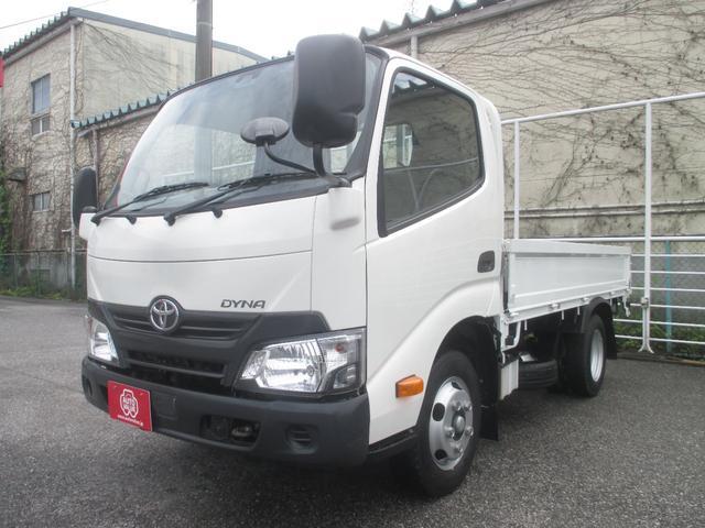 トヨタ ダイナトラック フルジャストロー平ボディ 2トン積み4ナンバー