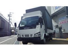 エルフトラック2t高床ロング カーテン式幌車 30