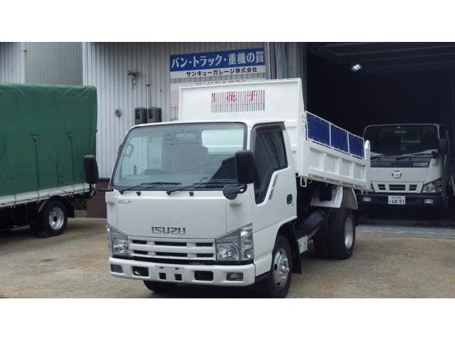 いすゞ エルフトラック  高床3tダンプ/コボレーン/6速MT/18