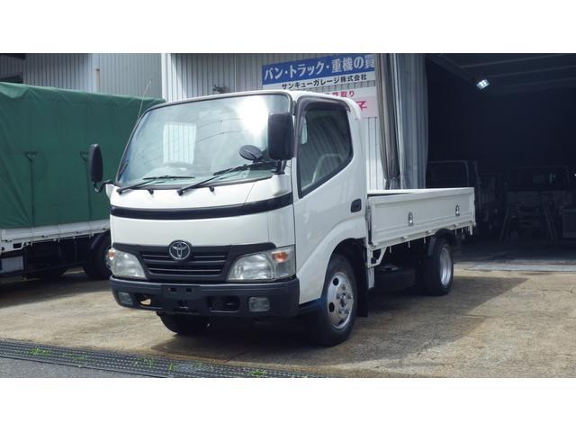 トヨタ ダイナトラック ジャストロー 低床2t平ボディ/オートマ/総重量4515kg/仕上済/28