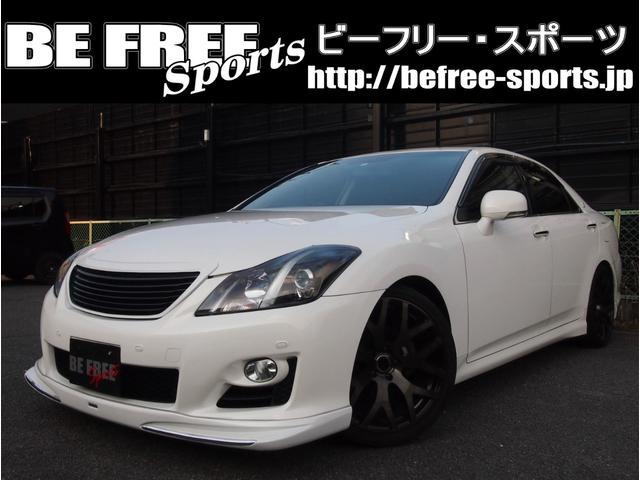 トヨタ 2.5アスリート ナビパッケージ・サンルーフ・車高調・エアロ